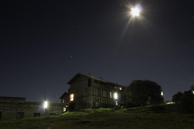 Exteriores por la noche