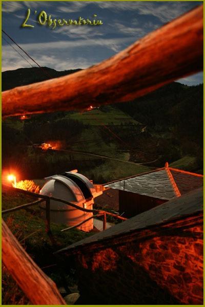 L'Observatoriu de noche