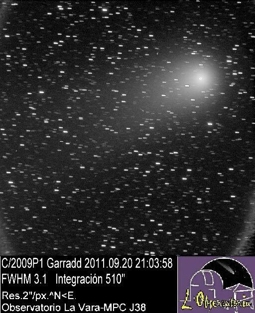 Observación de cometas